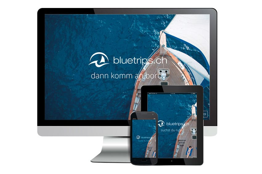 Website & SEO Bluetrips-Sailing