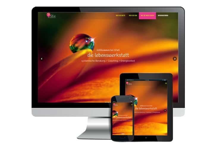 Webdesign Website Quinti